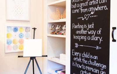 I 7 Elementi che Troverete nelle Camerette dei Bambini Creativi