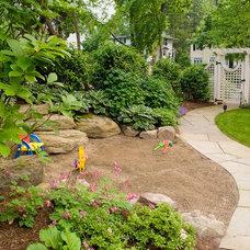 Traditional Kids by Cording Landscape Design