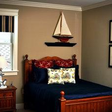 Beach Style Bedroom by Landmark Homes