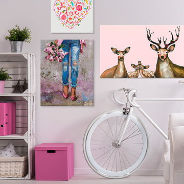 Shabby Chic Space for Girls