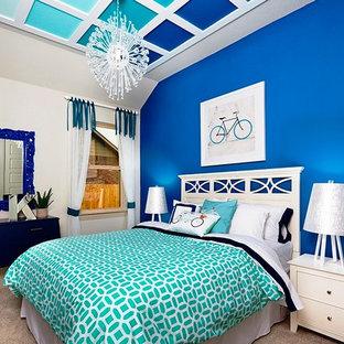 Shades of Blue Teenage Girl's Room