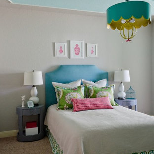 Teal Teenage Girls Room | Houzz