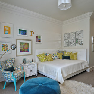 Inspiration for an eclectic teen room remodel in Houston