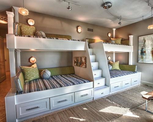 SaveEmail - Quad Bunk Beds Houzz