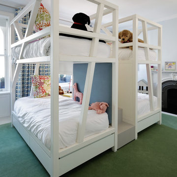 Simple and Colorful Kids Room