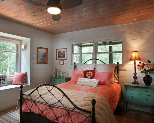 landhausstil jugendzimmer ideen design houzz. Black Bedroom Furniture Sets. Home Design Ideas