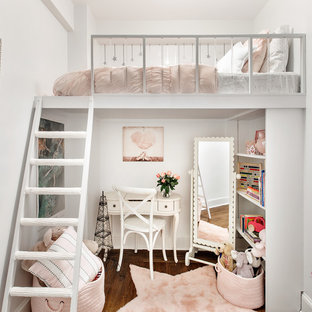 Design ideas for a romantic kids' room in New York.
