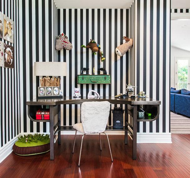 10 fa ons d 39 adopter la tendance rayures. Black Bedroom Furniture Sets. Home Design Ideas