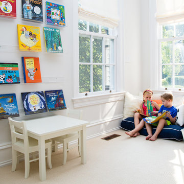 Smart Playroom in Greenwich, CT.