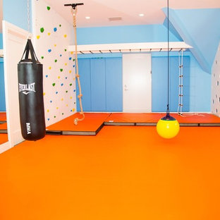 Smart Playroom in Westport, CT.