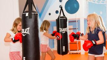 Smart Playroom in Westport, CT.