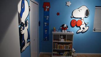 Snoopy Bedroom
