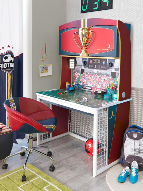 Soccer Bedroom Home Design Ideas, Pictures, Remodel and Decor