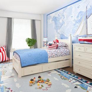 Kids' room - contemporary boy kids' room idea in New York