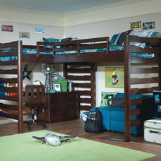 Contemporary Kids Solution to a Small Room