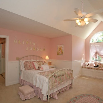 Sophie Azouaou / / Project: Girl Pink Dream Bedroom