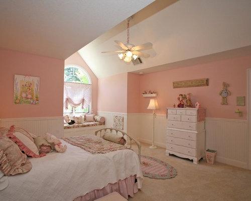 11 photos de chambres denfant romantiques lambris - Lambris Chambre Shabby Chic