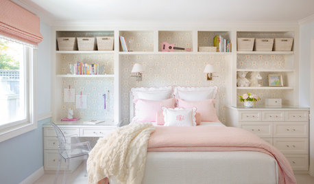 Gorgeous Bedroom for a Girl to Grow Into