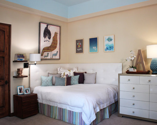 Corner bed home design ideas pictures remodel and decor