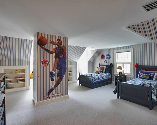 Basketball Bedroom Home Design Ideas, Pictures, Remodel ...