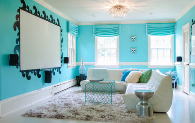 Room of the Day: Miami Beach Style for a Virginia Teen Hangout