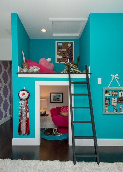 Nyklassisk Børneværelse by Premier Partners Homes - Austin's Custom Builder