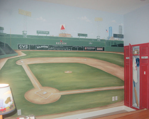 Fenway Park Mural Ideas, Pictures, Remodel and Decor