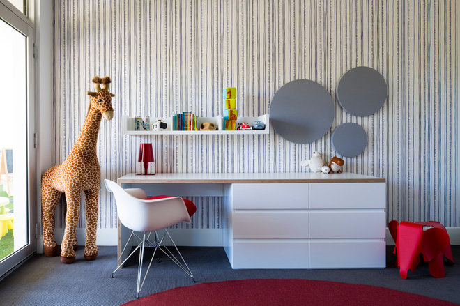 Enfants contemporains par D'Cruz Design Group Sydney Interior Designers