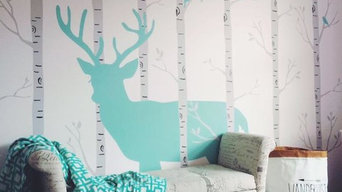 Stag in the Woods Wallpaper Mural
