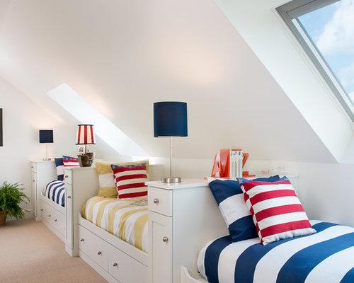 kinderzimmer maritim gestalten ideen f r m dchen junge. Black Bedroom Furniture Sets. Home Design Ideas