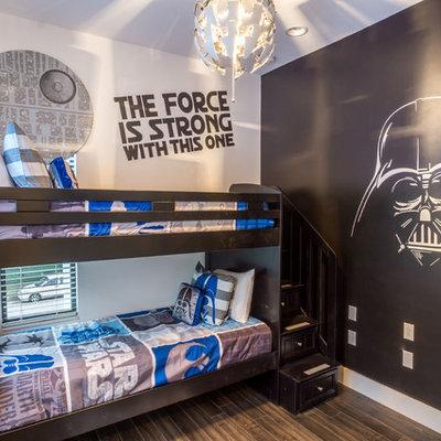 Inspiration for a modern kids' bedroom remodel in Orlando