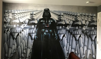 Star wars wall paper mural