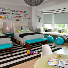 Contemporary Kids by Mary Anne Smiley Interiors