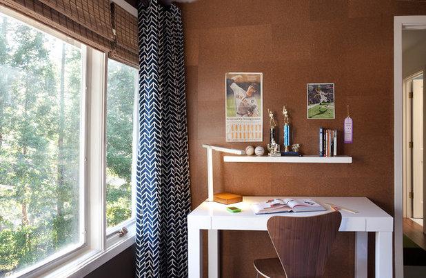 コンテンポラリー 子供部屋 by lisa rubenstein - real rooms design