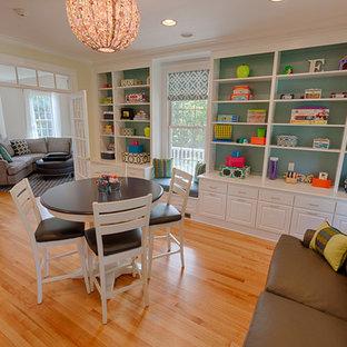 Playroom - transitional playroom idea in Boston