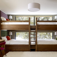 modern kids by John Maniscalco Architecture