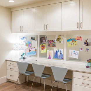 Inspiration for a transitional kids' room remodel in Salt Lake City