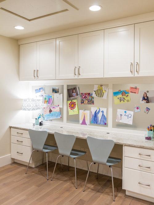 Inspiration for a transitional kids' room remodel in Salt Lake City