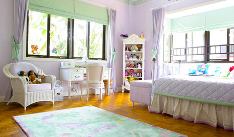 Room Tour: Candy Colours Sweeten a Girl's Dream Bedroom