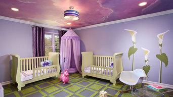 Sunset Nursery -EMC2 Interiors - NYC