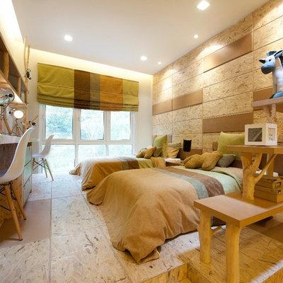 Kids' bedroom - contemporary kids' bedroom idea in Other