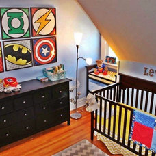 Contemporary Kids Super Hero Nursery