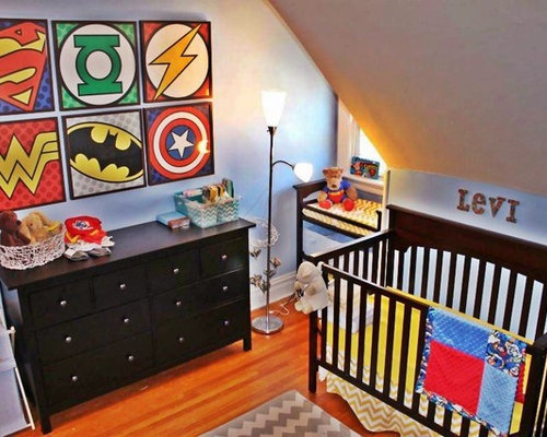 Teenage super hero bed room contemporary kids new york by - Super Hero Room Home Design Ideas Pictures Remodel And Decor