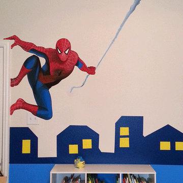 Superhero bedrooms