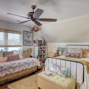 Example of a beach style kids' room design in Other