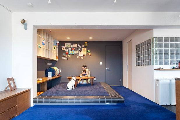 コンテンポラリー 子供部屋 by blue studio