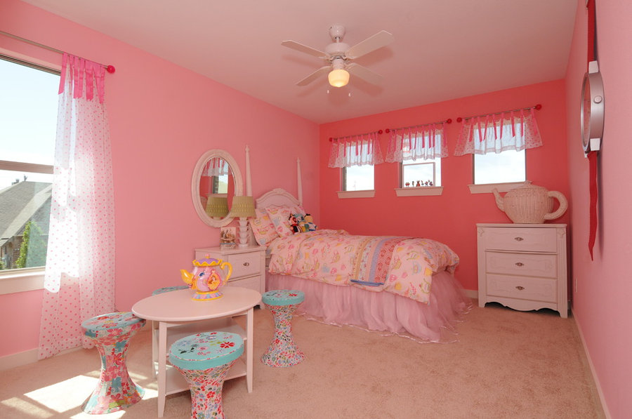 Tea Party Girls Room