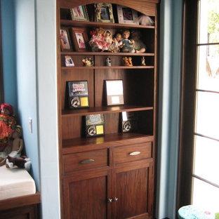Cette photo montre une chambre d'enfant exotique.