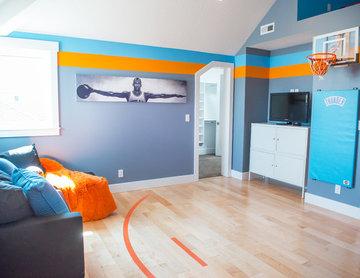 Teen Basketball Lounge/Bedroom