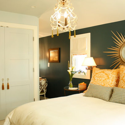 San Francisco Home sunburst mirror Design Ideas, Pictures, Remodel ...